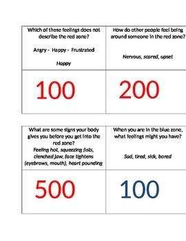 Emotion Regulation Jeopardy