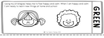 Self Regulation Tools: Student Toolbox Workbook x 3 for feelings/emotions