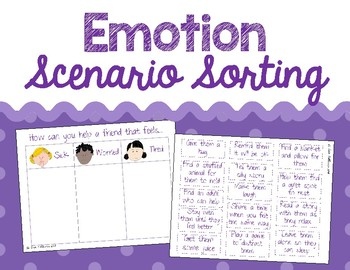 Emotion Practice - Sorting