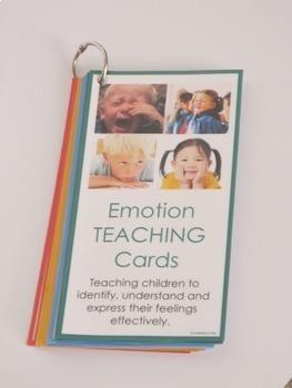 Emotion TEACHING Cards