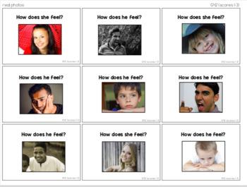 Emotion Task Cards [ABLLS-R Aligned C54, G42]