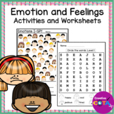 Emotion and Feelings Theme Worksheets and Activities