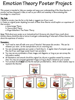 Emotion Theory Poster Project