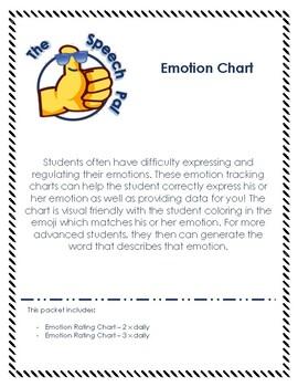 Emotion Tracking Charts