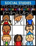 Feelings and Emotions mini unit