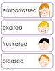 Emotion Vocabulary Cards and Spelling Practice
