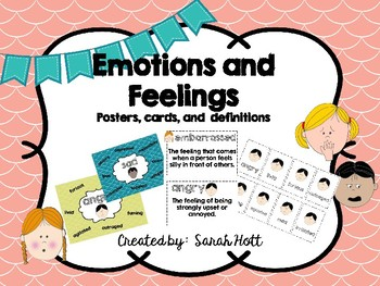 Emotion Word Posters