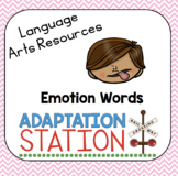 Emotion Words Unit-A VAAP Resource