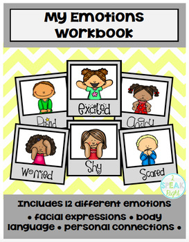 Emotions Workbook (and Posters)!