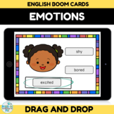 Emotion and Feelings Boom Cards for Distance Learning