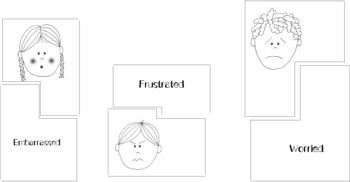 Emotion and Feelings Puzzle Activity