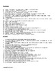 Emotion and Motivation Vocabulary Crossword For Psychology