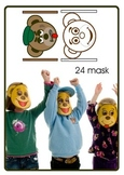 Emotion masks Kooky Bear
