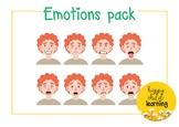 Emotions pack - boy 4