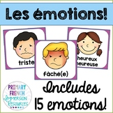 Emotion posters - French - les émotions
