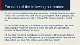 Emotional Awareness - Think/Feel/Respond Scenarios
