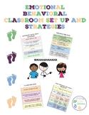 Emotional Behavioral Classroom Setup and Strategies