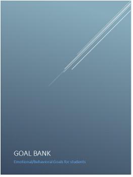 Emotional/Behavioral Goal Bank