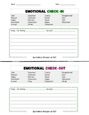 Emotional Check-in and Check-out