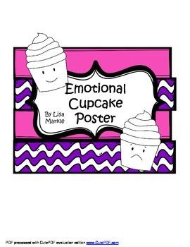 Emotions Cupcake Poster