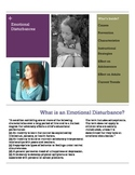 Emotional Disturbance Brochure for Parents and Teachers