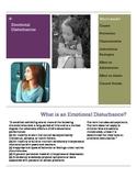 Emotional Disturbance Brochure for Parents and Teachers