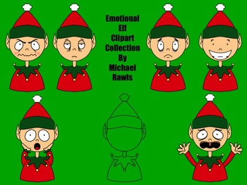 Emotional Elves Clipart