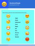 Emotional Emojis - Adjectives of Emotion