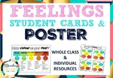 Emotional Feelings Recognition Poster and Student Cards