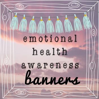 Emotional Health Matters Banners: Challenge Stigma!