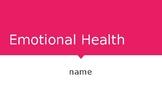 Emotional Health Powerpoint
