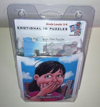 Emotional ID Puzzles (Acrylic) - Juanita