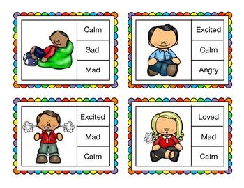 Emotional Identification Cards