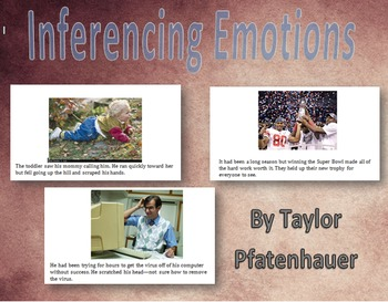 Emotional Inference Supplemental Materials