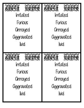Emotional Intelligence Card Set (4 each)