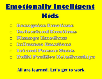 Emotional Intelligence Checklist