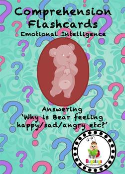 Emotional Intelligence High Level Comprehension Flashcards - Explaining Feelings
