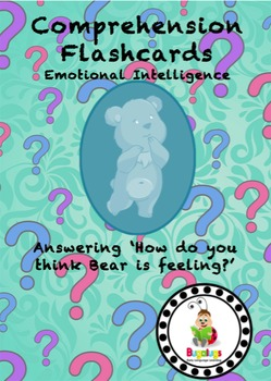 Emotional Intelligence High Level Comprehension Flashcards -Identifying Feelings