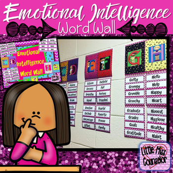 Emotional Intelligence Word Wall