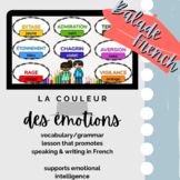 Comprehensible Input French : Emotions & Colors