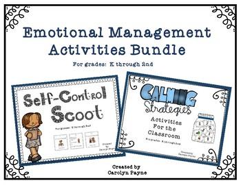 Emotional Management Activities Bundle