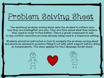 Emotional Problem Solving Pack