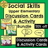 Emotional Regulation Bundle Upper Elementary Discussion Ca