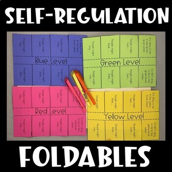 Zones of  Regulation Interactive Notebook (Social Thinking)