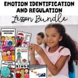 Emotional Regulation Lesson Bundle For Elementary