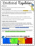 Emotional Regulation Parent Letter EDITABLE