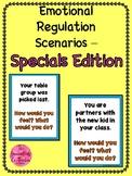 Emotional Regulation Scenario Cards - Specials Edition