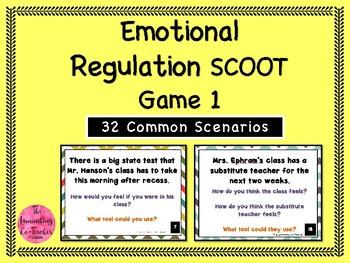 Emotional Regulation Scoot Game - Set 1