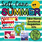 Emotional Regulation Take-Home Kit: Self-Care Summer