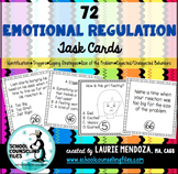 Emotional Regulation Task Cards #sweetcounselor